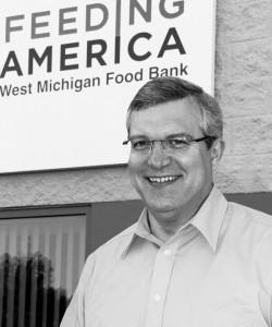 Ken Estelle, CEO of Feeding America West Michigan since 2011.