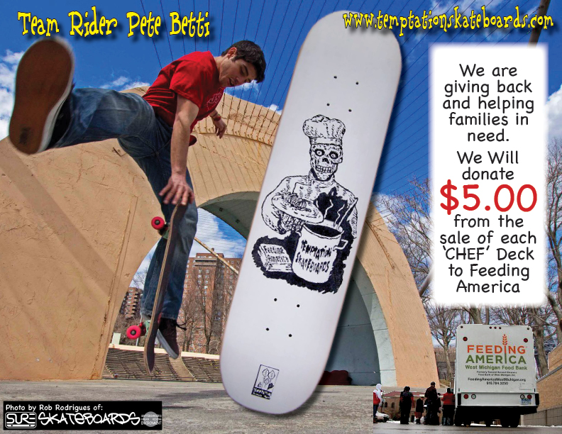 Temptation Skateboards-Chef