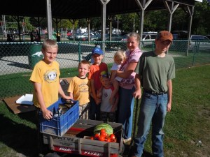 The Mobile Pantry served 161 people, including many seniors and families with young children.