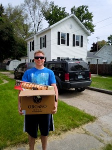 Jason, a machinist, attended his first Mobile Pantry on May 21 and received food for himself and his fiancée.