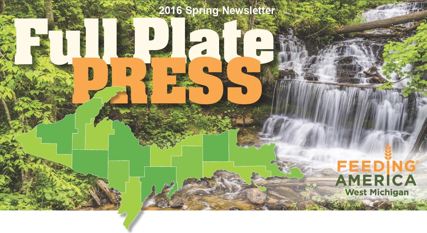 Spring 2016 Newsletter Cover Image