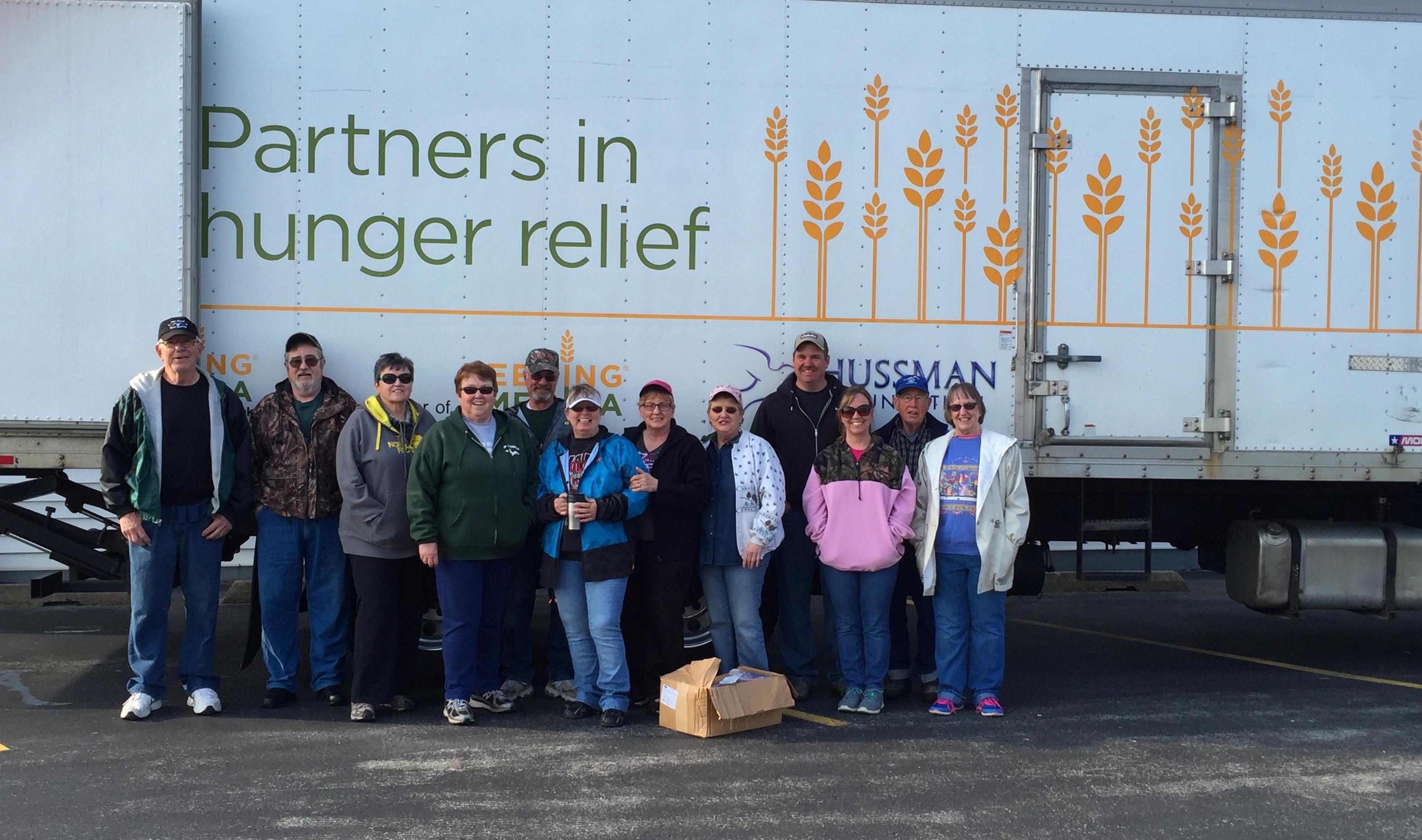 Garden Area Catholic Churches hosted a Mobile Pantry in May and will do so again in June. Credit: Feeding America West Michigan