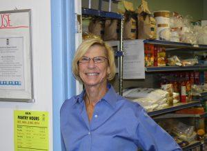 PJ Hefferan, food pantry coordinator at North End Community Ministry.