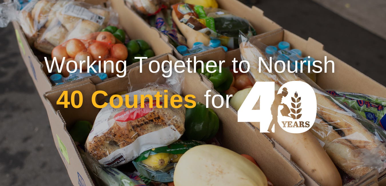 Working together to nourish 40 counties for 40 years
