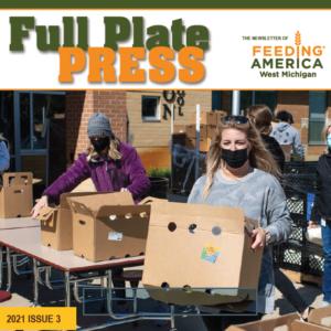 Full Plate Press newsletter cover image