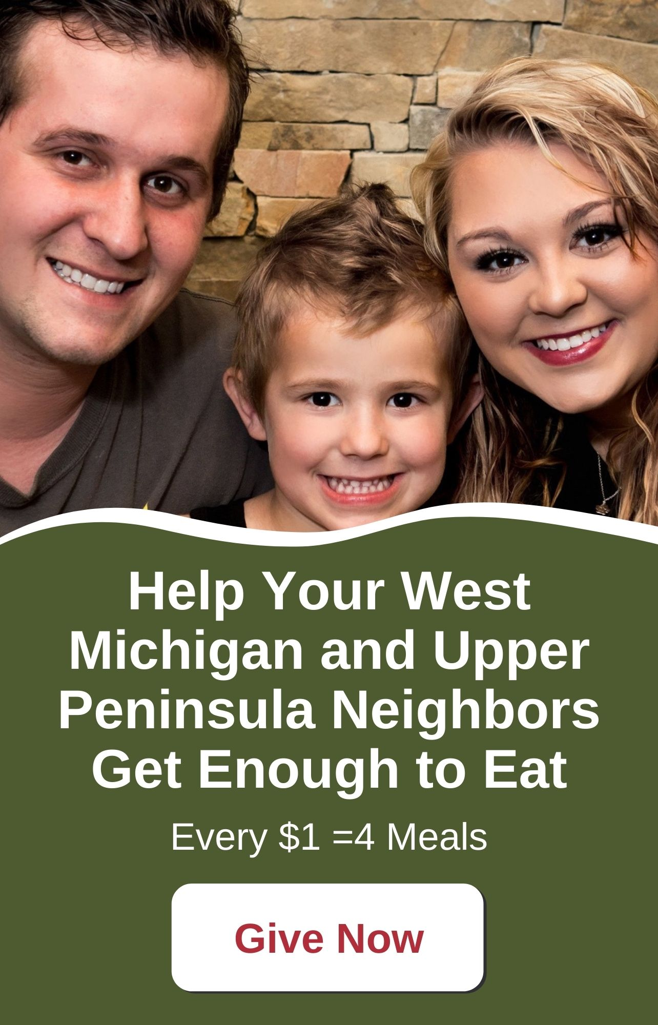 Help Your West Michigan and Upper Peninsula Neighbors Get Enough to Eat