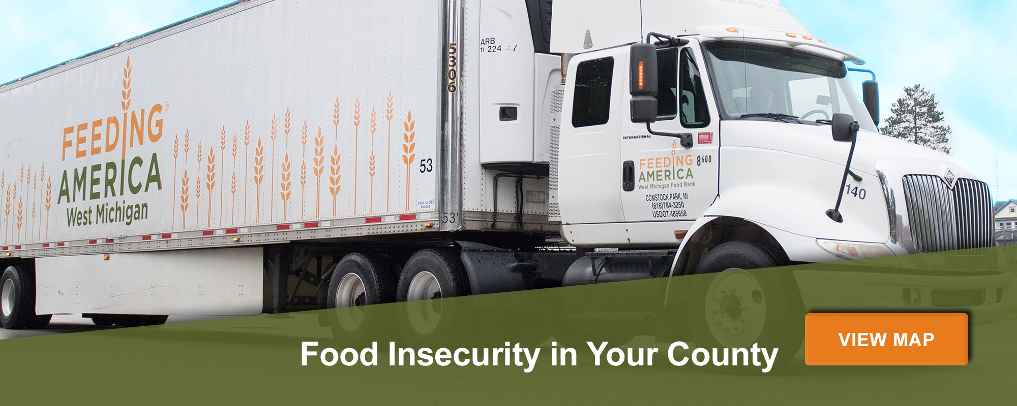 Food Security in Your County. View Map.