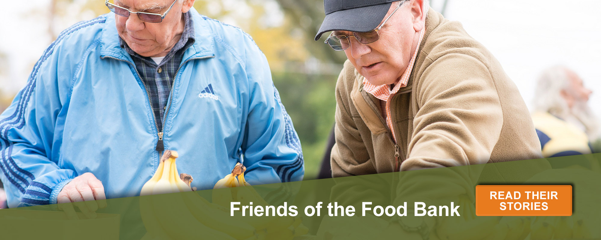 Friend of the food bank. Read their stories here.