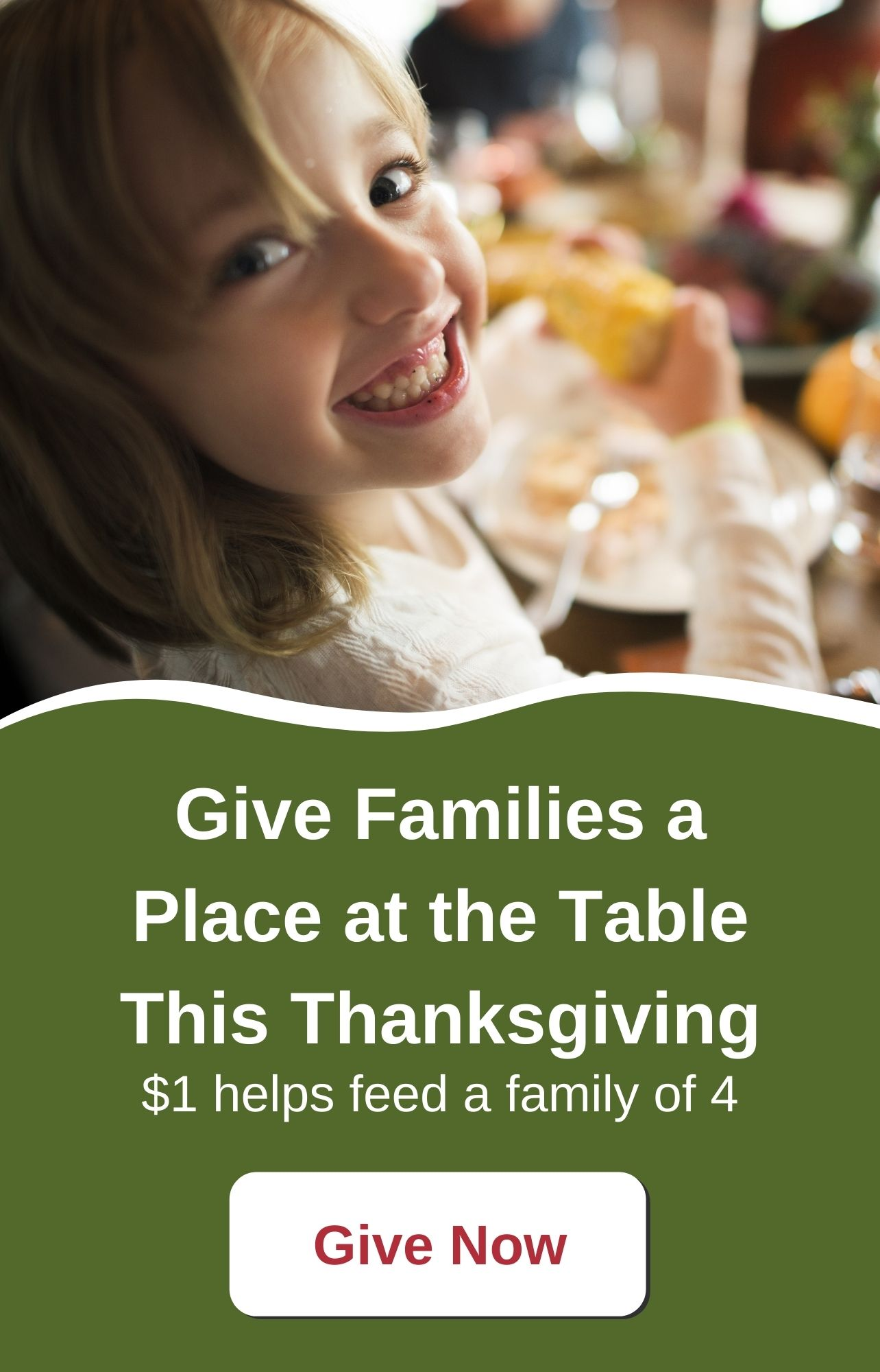 Give Families a Place at the Table This Thanksgiving