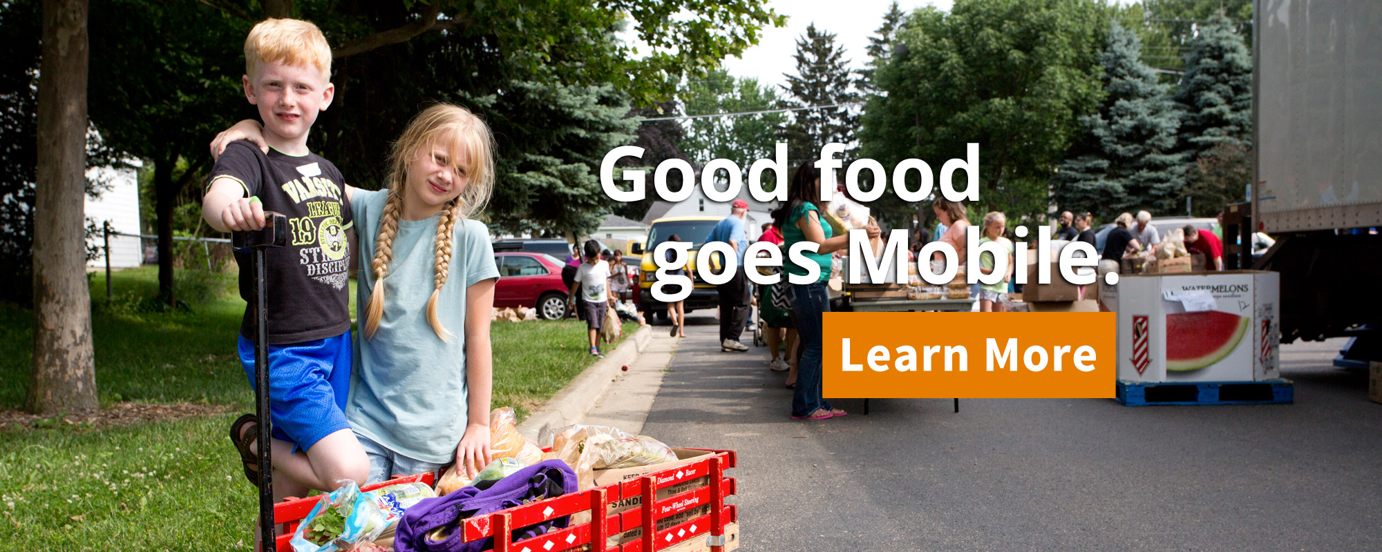 Good food goes Mobile - Learn More